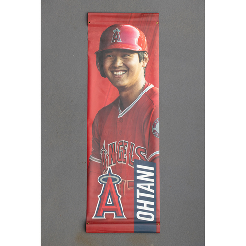 Photo of Shohei Ohtani Team-Issued Street Banner