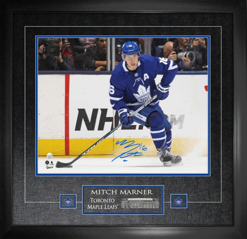16x20 Mitch Marner Signed Photo Framed