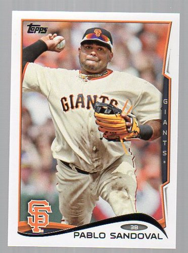 Photo of 2014 Topps #327 Pablo Sandoval