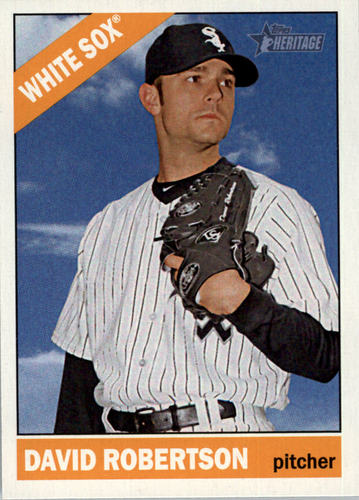 Photo of 2015 Topps Heritage #355 David Robertson