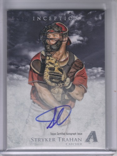 Photo of 2013 Bowman Inception Prospect Autographs #ST Stryker Trahan