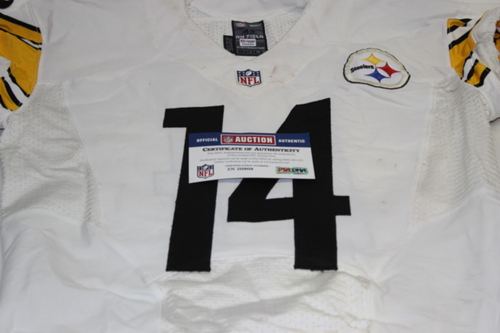 huge selection of d4e9e c1c0c NFL Auction | BCA - STEELERS SAMMIE COATES GAME USED ...
