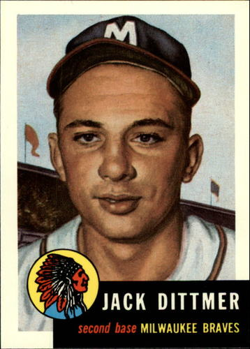 Photo of 1991 Topps Archives 1953 #212 Jack Dittmer