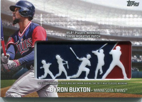 Photo of 2018 Topps Players Weekend Patches #PWPBB Byron Buxton