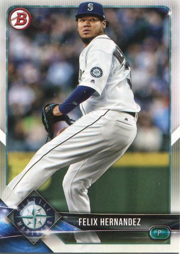 Photo of 2018 Bowman #88 Felix Hernandez