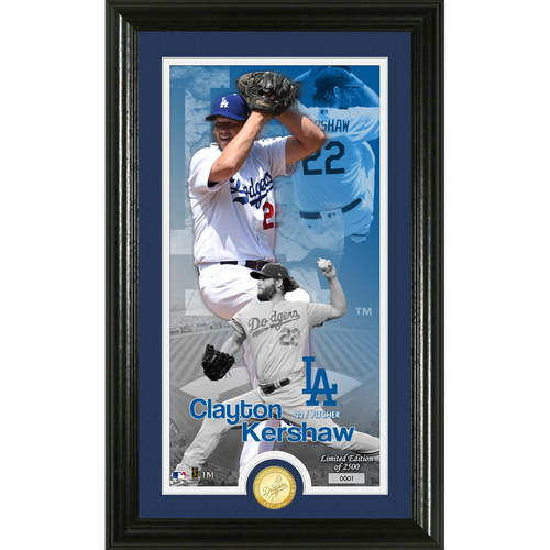 Photo of Serial #1! Clayton Kershaw Supreme Bronze Coin Photo Mint