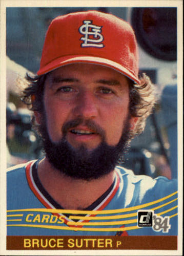 Photo of 1984 Donruss #534 Bruce Sutter