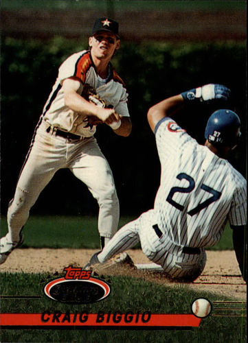 Photo of 1993 Stadium Club #183 Craig Biggio