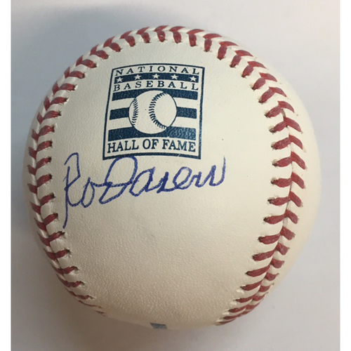 Photo of Rod Carew Autographed HOF Logo Baseball