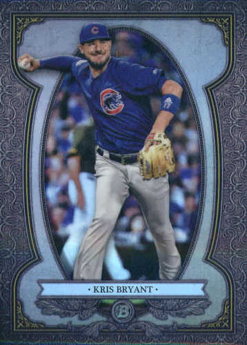 Photo of 2019 Bowman Chrome Bowman Sterling Continuity #BS7 Kris Bryant