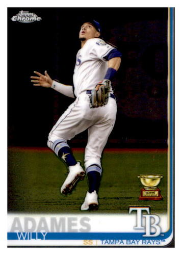 Photo of 2019 Topps Chrome #179 Willy Adames