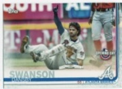 Photo of 2019 Topps Opening Day #38 Dansby Swanson