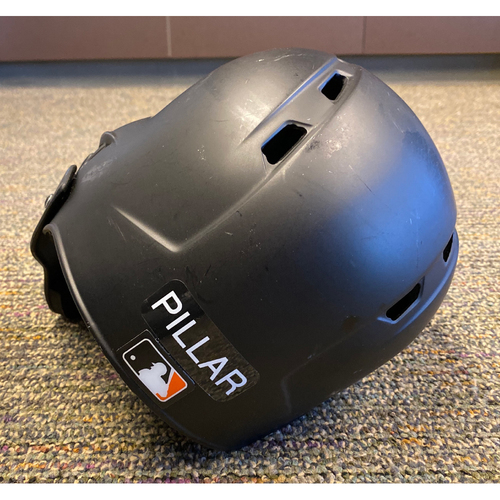 Photo of 2019 Game Used Batting Helmet worn by #1 Kevin Pillar on 9/25 vs. COL & 9/29 vs. LAD - Bruce Bochy's Final Game - Size 7 1/8