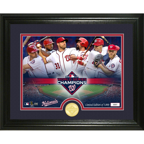 Photo of Washington Nationals 2019 World Series Champions Team Force Bronze Coin Photo Mint