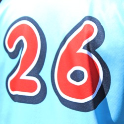 Photo of Salem BeerMongers #26 Game Worn Jersey
