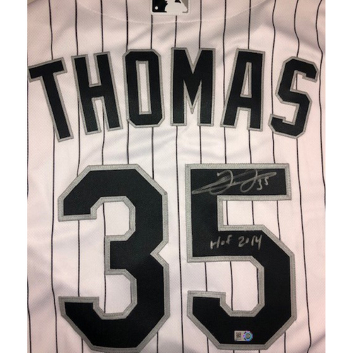 Frank Thomas Autographed Jersey - Size 52