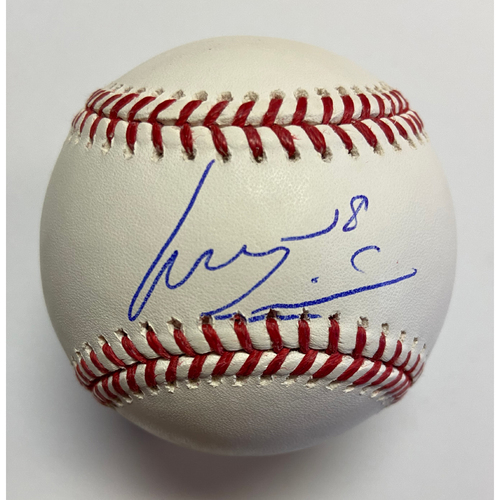 Photo of Luis Castillo Autographed Authentic Baseball