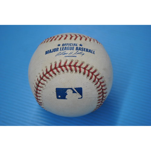 Photo of Game-Used Baseball - 2006 NLDS - Cardinals v. Padres - Game 2