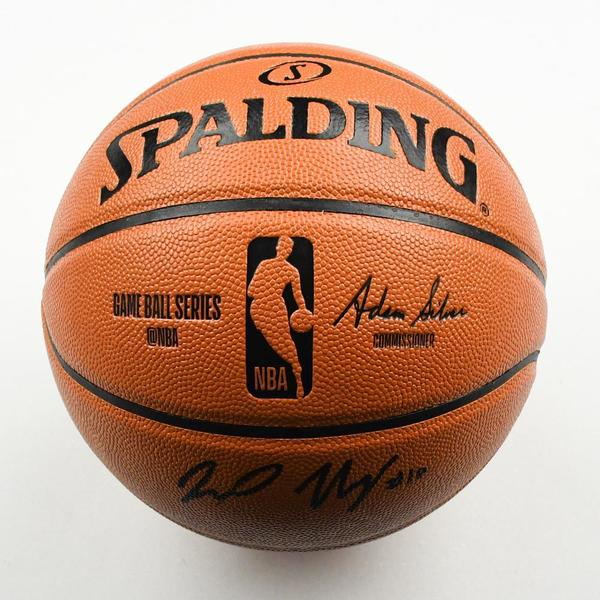 Image of Jaxson Hayes - New Orleans Pelicans - 2019 NBA Draft Class - Autographed Basketball