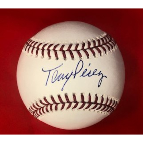 Photo of Tony Perez Autographed Baseball