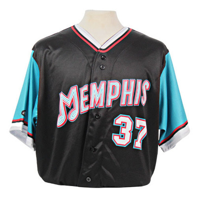 Angel Rondon Autographed Game-Worn 2021 Grizzlies-themed Jersey