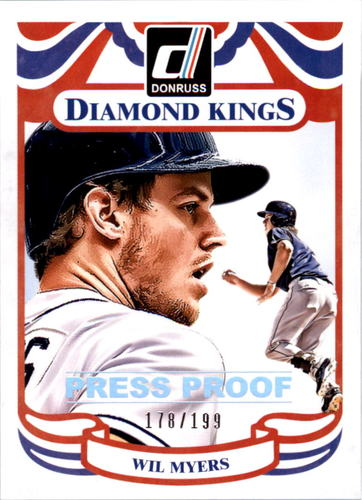 Photo of 2014 Donruss Press Proofs Silver #220 Wil Myers DK