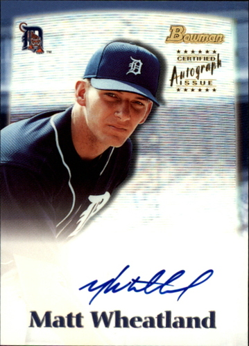 Photo of 2000 Bowman Draft Autographs #BDPA22 Matt Wheatland