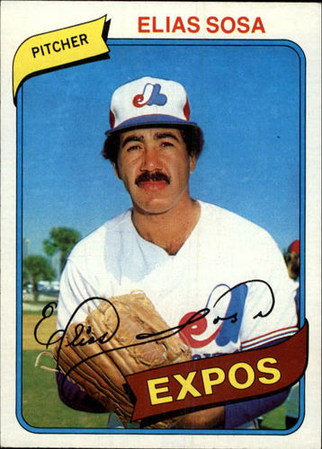 Photo of 1980 Topps #293 Elias Sosa