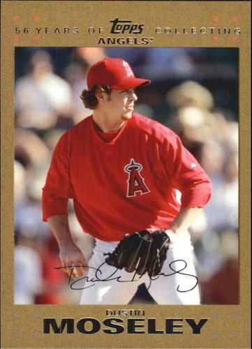 Photo of 2007 Topps Update Gold #129 Dustin Moseley