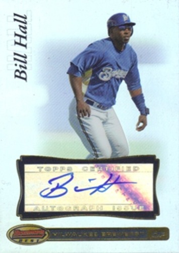 Photo of 2007 Bowman's Best #36 Bill Hall AU