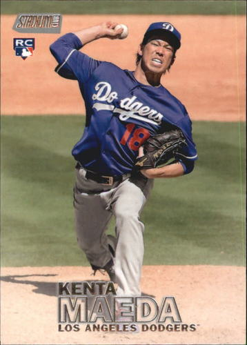 Photo of 2016 Stadium Club #91 Kenta Maeda Rookie Card -- Dodgers post-season