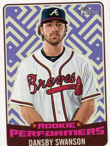 Photo of 2017 Topps Heritage Rookie Preformers #RPDS Dansby Swanson