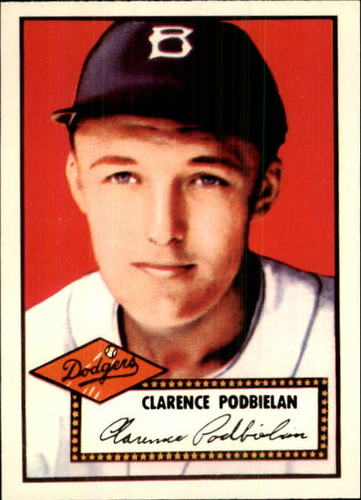 Photo of 1983 Topps 1952 Reprint #188 Clarence Podbielan