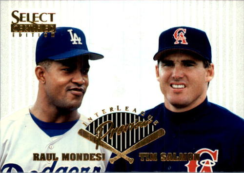 Photo of 1996 Select Certified Interleague Preview #17 R.Mondesi/T.Salmon