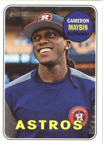 Photo of 2018 Topps Heritage #205 Cameron Maybin