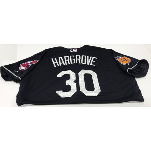 Photo of Mike Hargrove 2017 Spring Training Jersey