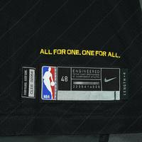 LeBron James - Cleveland Cavaliers - 2018 NBA Finals - Game 1 - Game-Worn Black 'Statement' Jersey - Postseason Career-High 51 Points
