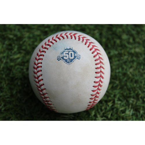 Photo of Game-Used Baseball: Anthony Rizzo 999th Career Hit (CHC @ KC - 8/8/18)