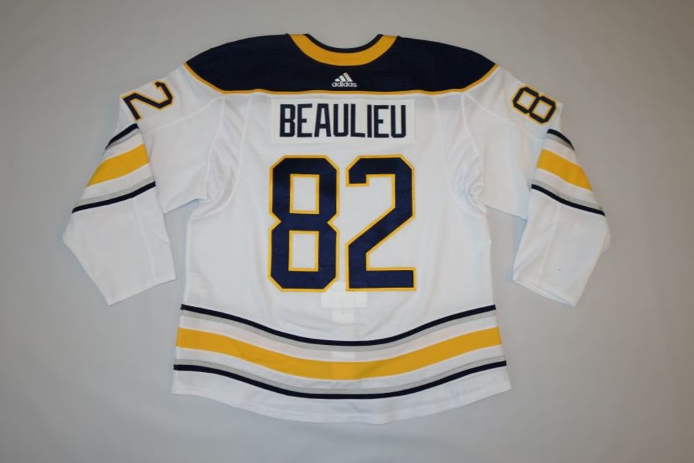 Nathan Beaulieu 2018-19 Buffalo Sabres Set 1 Away Jersey