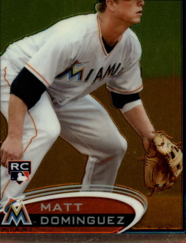 Photo of 2012 Topps Chrome #159 Matt Dominguez RC