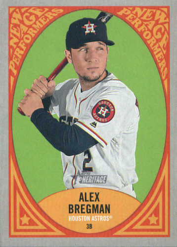 Photo of 2019 Topps Heritage New Age Performers #NAP11 Alex Bregman