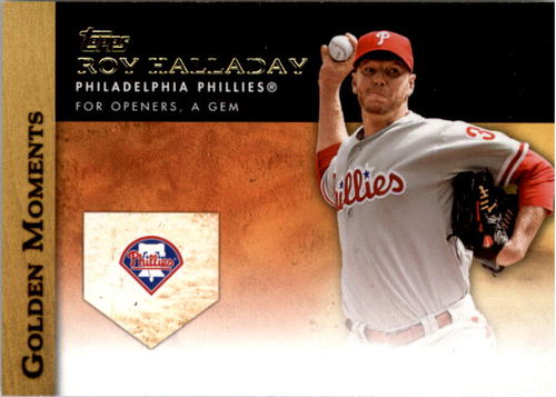 Photo of 2012 Topps Update Golden Moments #GMU33 Roy Halladay