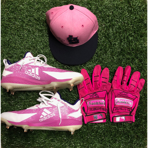 Photo of National Keratoconus Foundation Auction: Tommy Pham Autographed Mother's Day Cleats, Batting Gloves and Cap