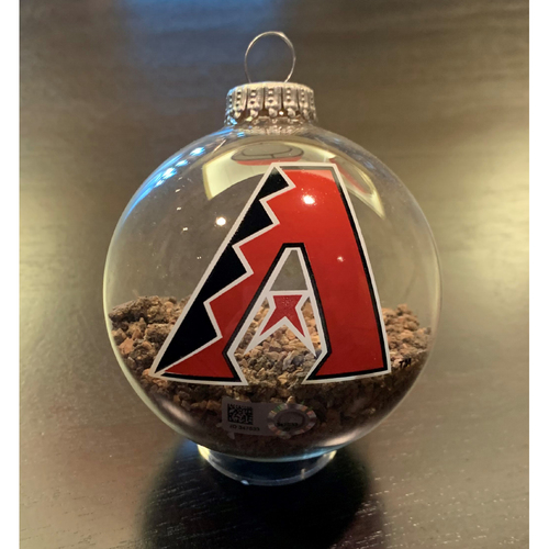Photo of Game-Used Dirt Ornament