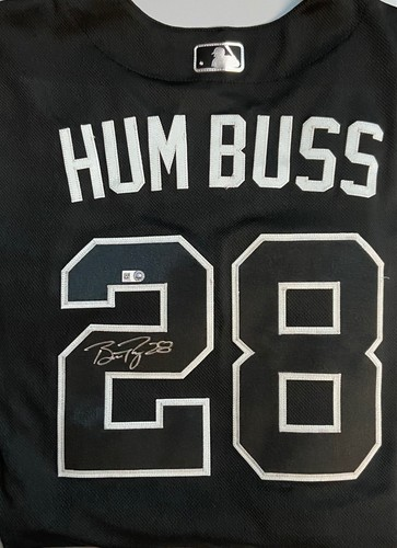Photo of Buster Posey Autographed 2019 Authentic Players' Weekend Nickname Jersey