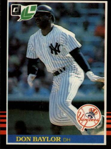 Photo of 1985 Leaf/Donruss #146 Don Baylor