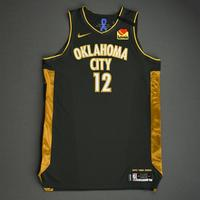 Steven Adams - Oklahoma City Thunder - Game-Worn 1st Half City Edition Jersey - 2019-20 Season