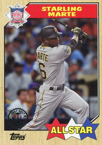 Photo of 2017 Topps '87 Topps #87188 Starling Marte