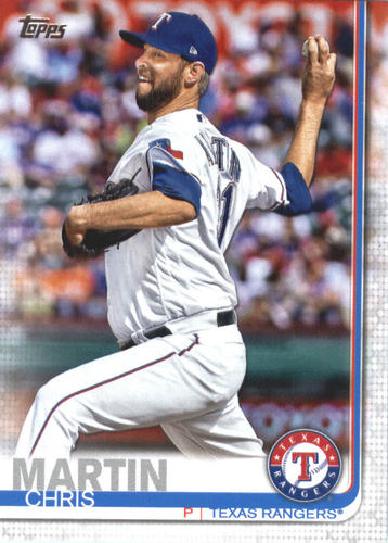 Photo of 2019 Topps #357 Chris Martin