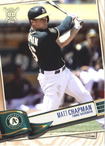 Photo of 2019 Topps Big League #166 Matt Chapman